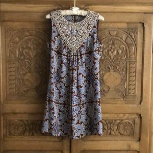 Tory Burch Crystal & Beaded Embellished Dress